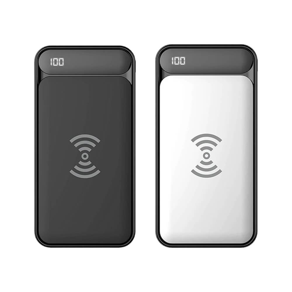 S-link IP-217W 10000mAh Powerbank 2 Usb Port Kablosuz Taşınabilir Pil Şarj Cihazı
