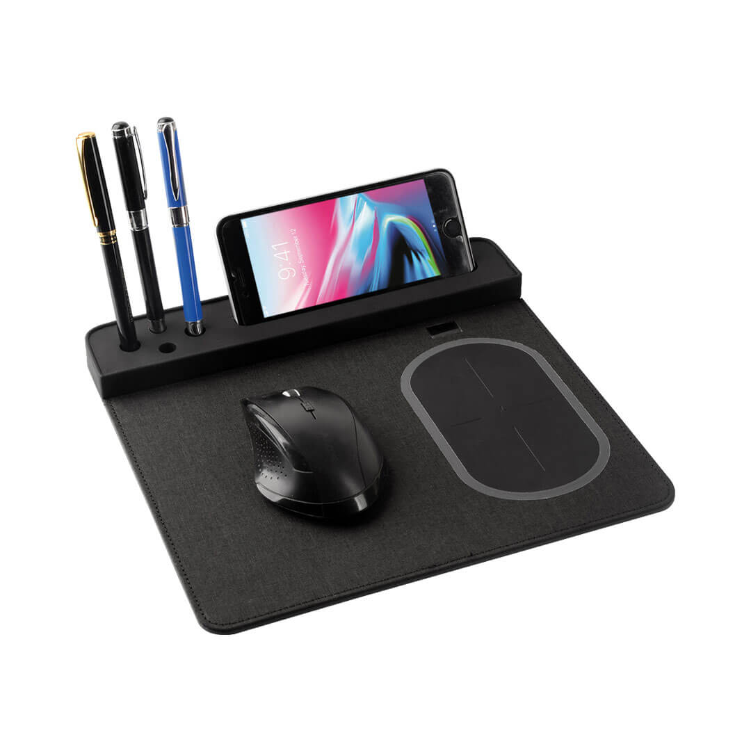 Wireless Kablosuz Şarjlı Mouse Pad